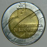 [NC] SAN MARINO - 500 LIRE 1990 - BIMETALLICA (nc3810) - Saint-Marin