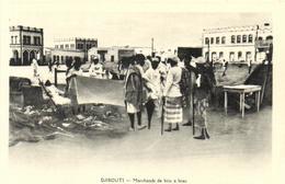 1 Cpa Djibouti - Marchands De Bric à Brac - Djibouti