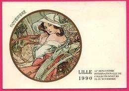 MUCHA - Lille 1990 - 12e Rencontre Internationale De Collectionneurs - Novembre - Bourses & Salons De Collections