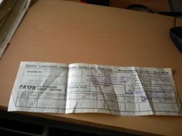 Electricity Bill Racun Za Struju Novi Sad - Factures & Documents Commerciaux