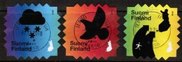2018 Finland, Climate Change, Complete Fine Used Set. - Finnland