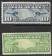 US  1926  Sc#C7 10c & C9   20c  Airmails  MNH  2016 Scott Value $18 - Air Mail