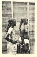"1 Cpa Djibouti - Femmes Somalis ""femme Seins Nus"" - Djibouti"