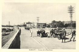 1 Cpa Djibouti - Avenue De La République - Djibouti