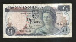 JERSEY - State Of JERSEY - 1 POUND / Queen Elizabeth II - Jersey