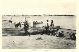 1 Cpa Djibouti - Retour De Pêche - Djibouti