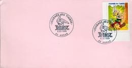 Fdc38-ENVELOPPE PREMIER JOUR DU TIMBRE JOURNEE DUTIMBRE 1999 ASTERIX N° 3225 - FDC