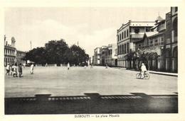 1 Cpa Djibouti - La Place Ménélik - Djibouti