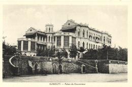 1 Cpa Djibouti - Palais Du Gouvernement - Djibouti