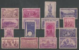 Usa 1937-1940 (timbres Diverses) - Vereinigte Staaten