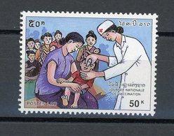 LAOS : -  JOURNÉE DE LA VACCINATION - N° Yvert 1251 ** - Laos