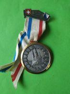 SVIZZERA 10° Marcia Popolare  Zurigo Ueltliberg 1973 - Medaillen & Ehrenzeichen