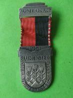 SVIZZERA  Premio Blumenstein 1951 - Medaglie
