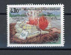 LAOS : -  CONTRE LA DROGUE - N° Yvert 1092 ** - Laos