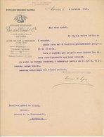 Factuur / Brief Anvers / Anwerpen 1931 - Distillerie - Brasserie - Malterie - Distillery - Beer Brewery - Malting - Bell - 1900 – 1949