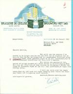 BRASSERIE DE L'ECLUSE / BROUWERIJ HET SAS BOORTMEERBEEK 1951 (F553) - 1950 - ...