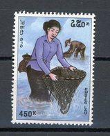 LAOS : -  PECHEUR - N° Yvert ? ** - Laos