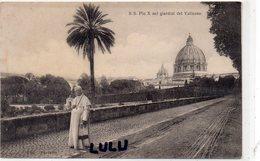 ITALIE : S S Pin X Nei Giardini Del Vaticano : Fototipia Alterocca Terni - Autres