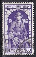 Regno D'Italia, 1934 -  50c Annessione Di Fiume - Nr.352 Usato° - Usati