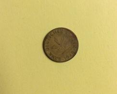 Pièce :  Bank Deutscher Lander, 10 Pfennig, 1949 (tâche Sur Une Face) - 10 Pfennig
