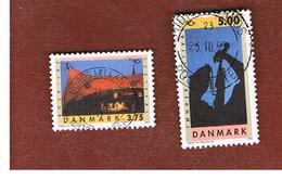 DANIMARCA (DENMARK)  -   SG 1052.1053  -  1994  NORDEN: MUSIC FESTIVAL  (COMPLET SET OF 2) - USED ° - Usati