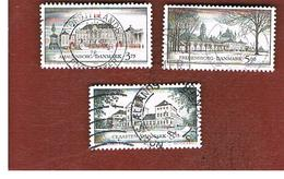 DANIMARCA (DENMARK)  -   SG 1021.1023  -  1994  ROYAL RESIDENCES  - USED ° - Usati