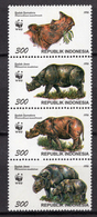 1996 - INDONESIA - Catg.. Mi.  1648/1651 - NH - (CW1822.3) - Indonesia