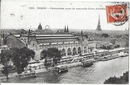 PARIS 75 SEINE 143 PANORAMA VERS LA NOUVELLE GARE D' ORLÉANS  TOUR EIFFEL SEINE  JCT&DG - Sets And Collections