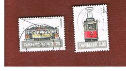 DANIMARCA (DENMARK)  -   SG 1026.1028  -  1994  TRAMS  - USED ° - Usati