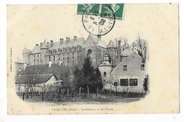 LAPALISSE  (cpa 03)   Le Château, Vu De L'usine  -  L 1 - Lapalisse