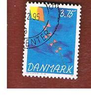 DANIMARCA (DENMARK)  -   SG 1031  -  1994   CHILDREN'S STAMP DESIGN COMPETITION : KITE - USED ° - Usati