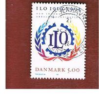 DANIMARCA (DENMARK)  -   SG 1032  -  1994  75^ ANNIVERSARY OF I.L.O. - USED ° - Danimarca