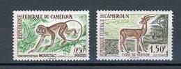 CAMEROUN : ANIMAUX N° Yvert 339+341 * - Cameroun (1960-...)