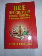 Russian Literature - All The Works Of The School Program In Summary - Livres, BD, Revues