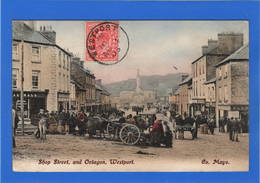 IRLANDE - WESTPORT Shop Steet, And Octagon - Mayo