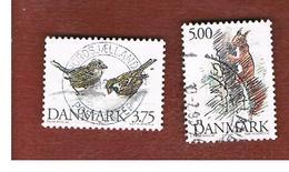 DANIMARCA (DENMARK)  -   SG 1033.1035  -  1994  ANIMALS    - USED ° - Danimarca
