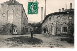 SAINT JULIEN MOLIN MOLETTE : Usine GILLIER Sainte Marthe - France