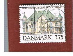 DANIMARCA (DENMARK)  -   SG 1041  -  1995 AARHUS CATHEDRAL SCHOOL     - USED ° - Usati