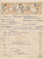 Factuur / Brief Charleroy 1928 - Maison Francois Verstegen - Peinture - Painting - België
