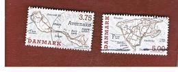 DANIMARCA (DENMARK)  -   SG 1043.1045  -  1995 DANISH ISLANDS    - USED ° - Danimarca