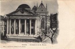 Genève.Cathédrale Saint-Pierre. - GE Ginevra