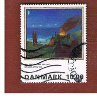 DANIMARCA (DENMARK)  -   SG 1055  -  1995 PAINTINGS: MIDSUMMER EVE    - USED ° - Danimarca