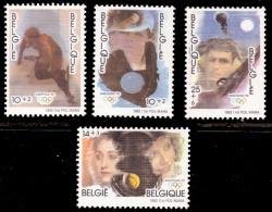 Belgium 2439/42** Jeux Olympiques Albertville  MNH - Belgium