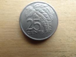 Trinite & Tobago  25  Cents  1977  Km 32 - Trinité & Tobago