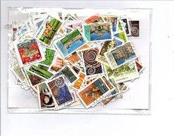 FRANCE   200 TP ADHESIFS OBLITERES TOUS DIFFERENTS à 3 CENTIMES PIECE! - Stamps
