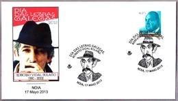 Dia Das Letra Galegas - Escritor ROBERTO VIDAL BOLAÑO. Noia, La Coruña, Galicia, 2013 - Escritores