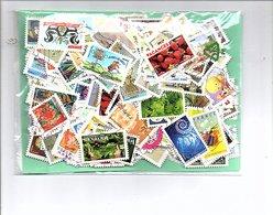 FRANCE 300 TP ADHESIFS OBLITERES TOUS DIFFERENTS à 3 CENTIMES PIECE! - Stamps