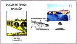 PUENTE DE PIEDRA - LOGROÑO. Stone Bridge. SPD/FDC Madrid 2013 - Puentes