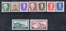 568/1500 - ALBANIA 1944 , Serie Completa N. 303/311  ***  MNH - Albania