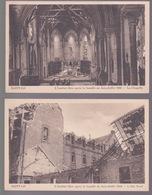 2 CPA.  Saint -Lo. L'institut Libre Après La Bataille De Juin-Juillet 1944 - Saint Lo